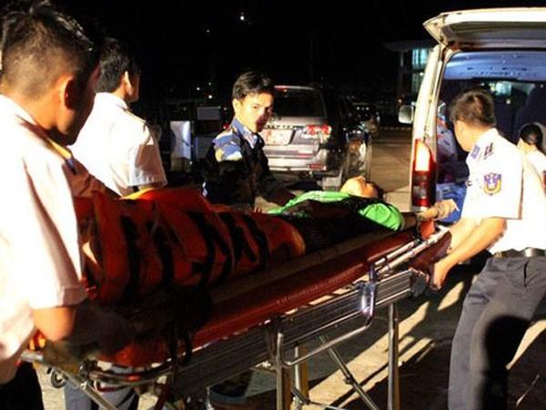 Các chiến sĩ thuộc Vùng Cảnh sát biển 4 đã làm tốt nhiệm vụ tìm kiếm cứu nạn trong vụ tàu cá ở Cà Mau gặp nạn trên biển Tây