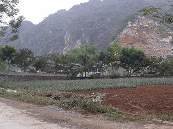 Huyện miền núi Ngọc Lặc, nơi xảy ra vụ việc đau lòng. Ảnh minh họa