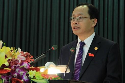 Bí thư Tỉnh ủy Thanh Hóa Trịnh Văn Chiến. Ảnh: Lê Hoàng