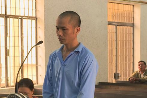 Bị cáo Thuận tại phiên tòa phúc thẩm