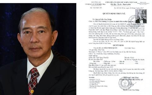 """Lý lịch cá nhân 7 đối tượng cầm đầu tổ chức khủng bố """"Chính phủ quốc gia Việt Nam lâm thời"""" ở nước ngoài ảnh 1"""