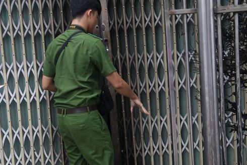 Công an TP Nha Trang khám nghiệm hiện trường