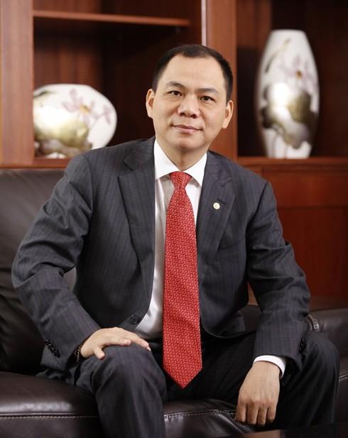 Tỷ phú Phạm Nhật Vượng - Chủ tịch HĐQT Vingroup