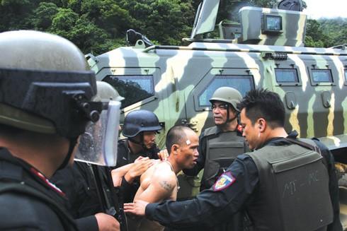 Đồng bọn của Nguyễn Thanh Tuân bị bắt giữ.