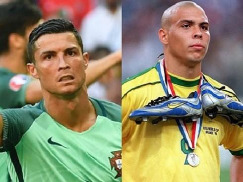 Chân dung hai cầu thủ lừng danh thế giới cùng mang tên Ronaldo