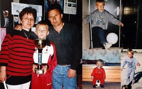 Từ khi còn là một đứa trẻ, Luka Modric đã có niềm đam mê mãnh liệt với trái bóng