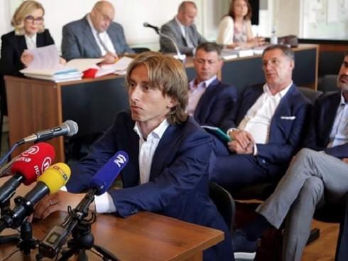 Modric bị tố đã khai man trước tòa nhằm bảo vệ Mamic