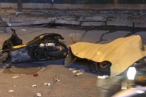 Vụ sập giàn giáo khiến 1 người phụ nữ đi đường thiệt mạng tại chỗ