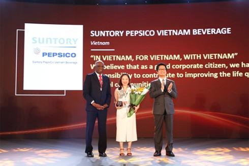 Suntory PepsiCo Việt Nam đạt nhiều thành tựu nổi bật năm 2018 ảnh 3