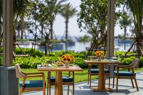 100% biệt thự tại Mövenpick Resort Cam Ranh đều hướng biển và nhìn thấy biển