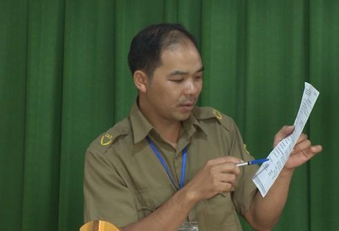 Trưởng công an xã Nậm Ty V đã tuyên truyền bằng tiếng Dân tộc Dao