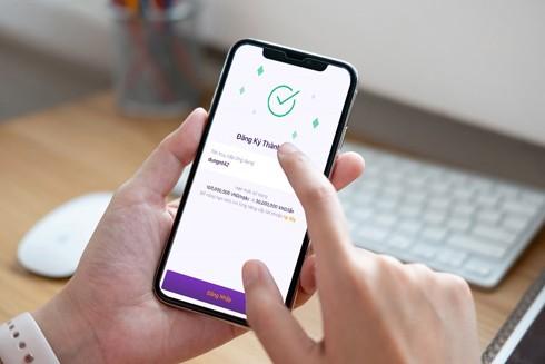 Chỉ mất vài phút trên app TPBank, khách hàng đã có thể mở thành công tài khoản và sử dụng được ngay