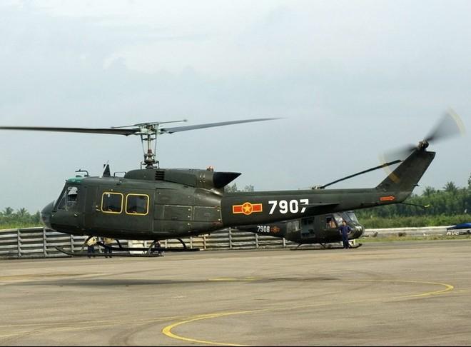Trực thăng UH-1 của Không quân Việt Nam