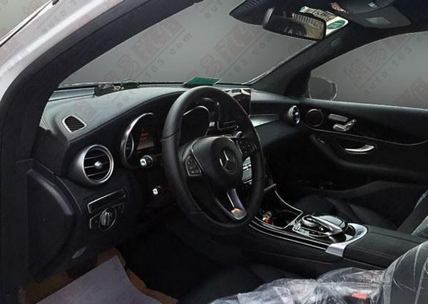 Mercedes-Benz GLC 2016 hé lộ những hình ảnh đầu tiên ảnh 4