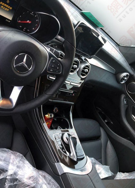 Mercedes-Benz GLC 2016 hé lộ những hình ảnh đầu tiên ảnh 3