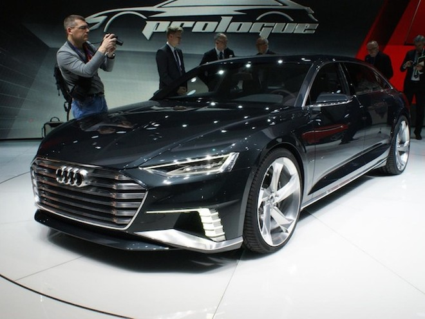 Audi Prologue Avant concept trình làng đầy ấn tượng