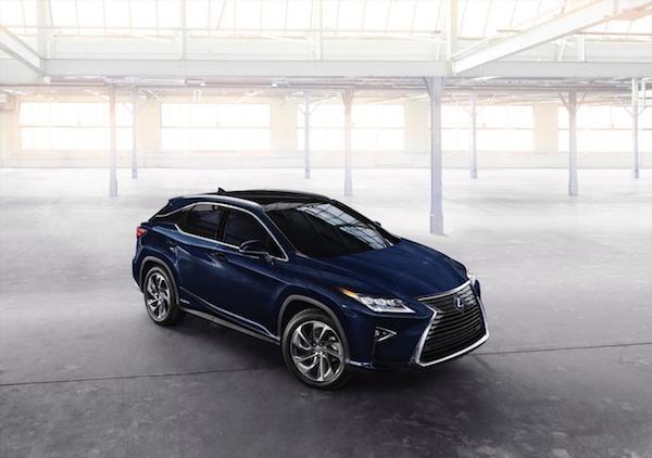 Lexus RX 2016: Thể thao và sang trọng ảnh 5
