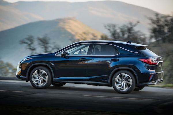 Lexus RX 2016: Thể thao và sang trọng ảnh 9