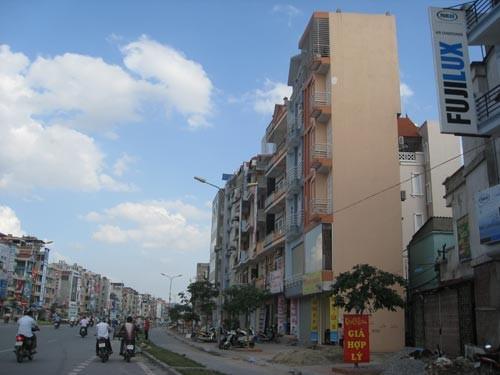 Nhà siêu mỏng ở Hà Nội
