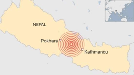 Tâm chấn của trận động đất