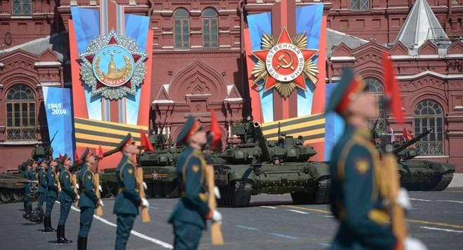 Lễ duyệt binh hùng tráng tại Quảng trường Đỏ - Moscow ảnh 58