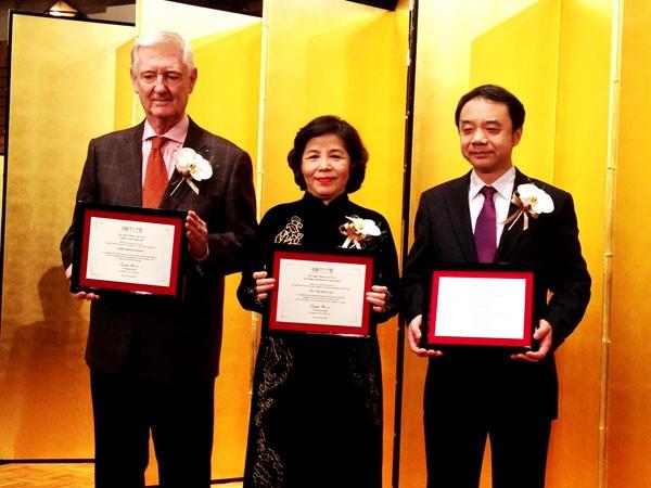 Bà Mai Kiều Liên được vinh danh tại Nhật Bản ảnh 1
