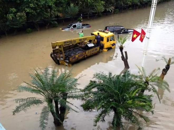 Quảng Ninh chìm trong trận mưa lũ lớn nhất trong vòng 4 thập kỷ ảnh 7