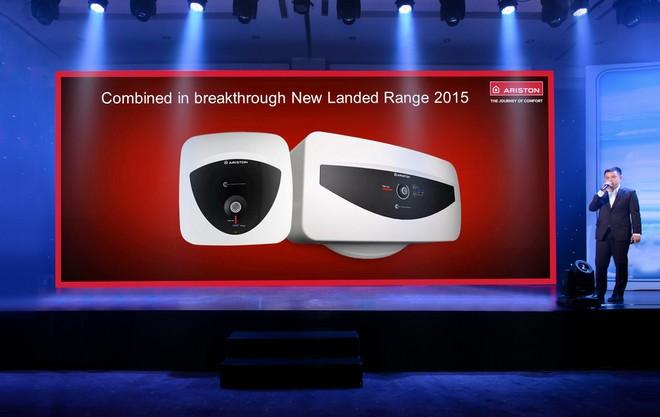 Hai sản phẩm máy nước nóng mới Andris Lux và Slim 30 điện tử