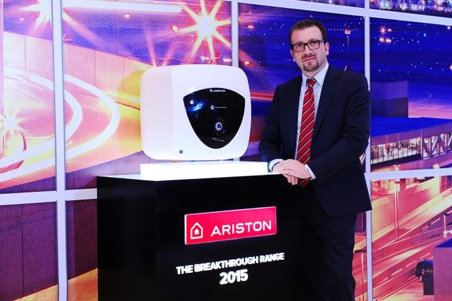 Ông Emanuele Giommi, Tổng giám đốc Ariston Thermo Việt Nam và sản phẩm Andris Lux