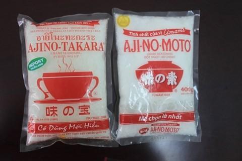 """""""Nhái"""" nhãn hiệu bột ngọt Aji-no-moto, một công ty bị phạt 500 triệu đồng ảnh 1"""