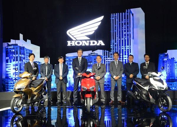 Honda Việt Nam tung ra mẫu Air Blade 125cc hoàn toàn mới
