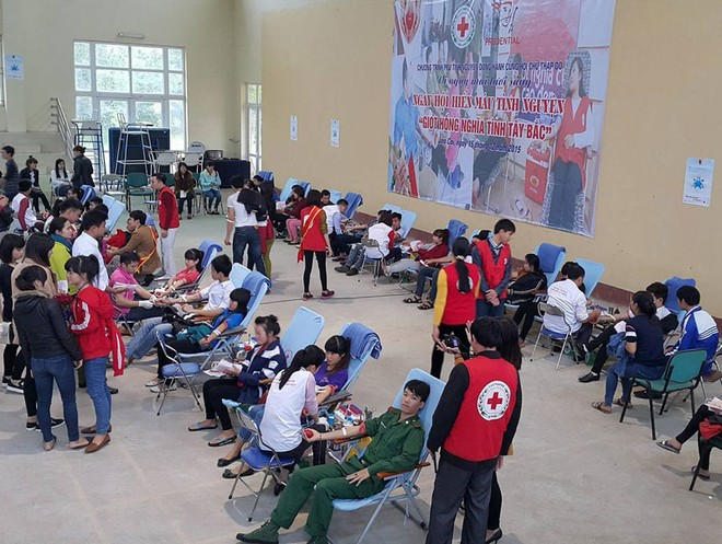 Hàng nghìn đơn vị máu đã được thu về, góp phần cứu chữa người bệnh