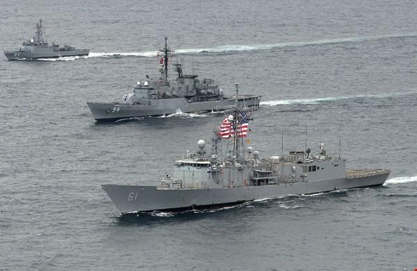 Mỹ đẩy nhanh kế hoạch bán tàu hộ tống lớp Perry cho Đài Loan ảnh 1