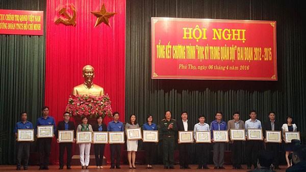 Tổng cục Chính trị QĐND Việt Nam tặng bằng khen cho HanoiADC ảnh 1