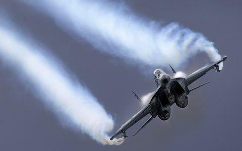 Chiến đấu cơ MiG-29 Nga gặp nạn ở ngoại ô Moscow ảnh 1