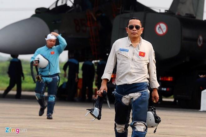 Thượng tá Trần Quang Khải (Ảnh: Hoàng Hà- Zing)