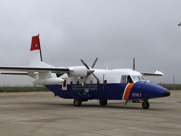Máy bay Cảnh sát biển đang tìm kiếm phi công Su-30 MK2 đột ngột mất liên lạc