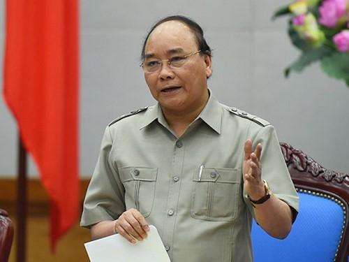 Thủ tướng Nguyễn Xuân Phúc (Ảnh: VGP)