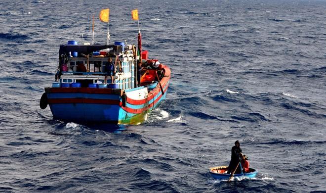 Tàu đánh cá của ngư dân Việt Nam. (Ảnh minh họa: Thanh Niên)