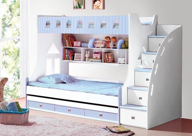Rèn luyện tính tự lập và sáng tạo với giường tầng trẻ em