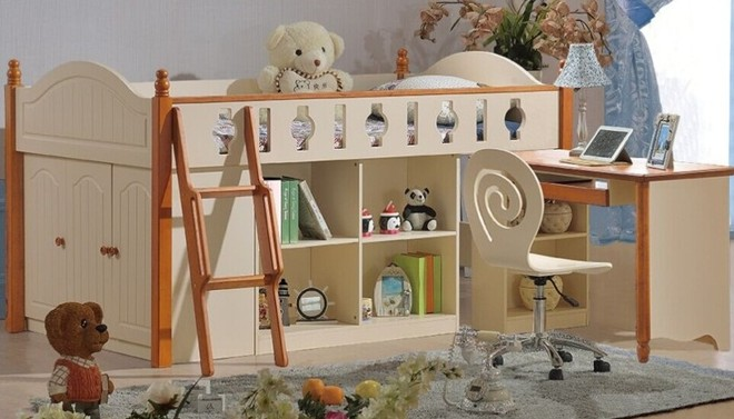 Rèn luyện tính tự lập và sáng tạo với giường tầng trẻ em ảnh 4