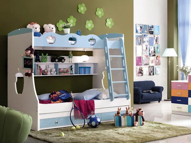 Rèn luyện tính tự lập và sáng tạo với giường tầng trẻ em ảnh 2