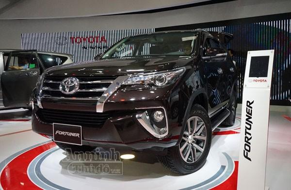 Chi tiết hàng 'hot' chính hãng Toyota Fortuner 2016 ảnh 1