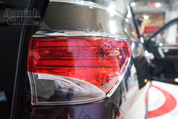 Chi tiết hàng 'hot' chính hãng Toyota Fortuner 2016 ảnh 7
