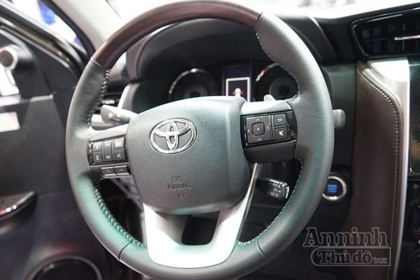 Chi tiết hàng 'hot' chính hãng Toyota Fortuner 2016 ảnh 10