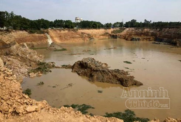 Vụ dấu hiệu khai thác đất trái phép tại Sóc Sơn: Hiện trường bị thay đổi ảnh 3