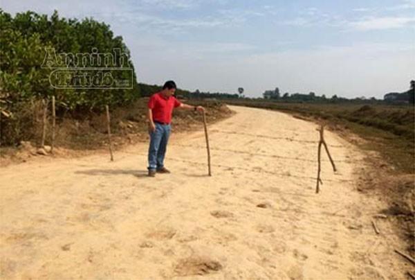 Vụ dấu hiệu khai thác đất trái phép tại Sóc Sơn: Hiện trường bị thay đổi ảnh 2