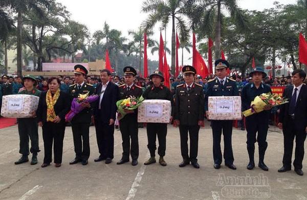 Hà Nội nô nức ngày hội tòng quân năm 2017 ảnh 4