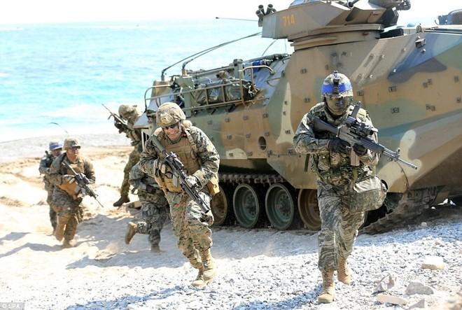 Bộ ba Mỹ-Hàn Quốc-Nhật Bản tập trận đối phó Triều Tiên ảnh 1