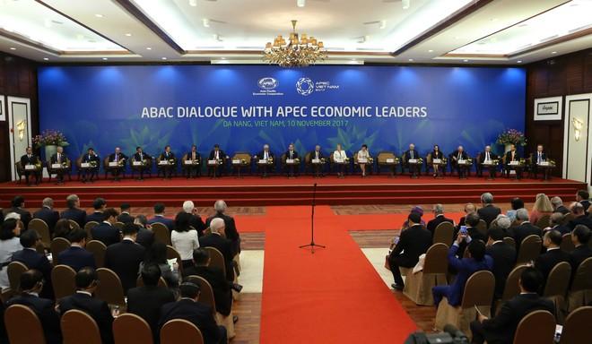 Chủ tịch nước Trần Đại Quang chủ trì Đối thoại Lãnh đạo APEC với ABAC ảnh 1